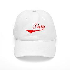 Tim Vintage (Red) Baseball Cap