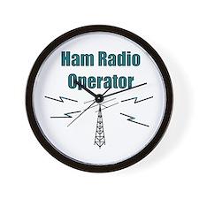 Ham Radio Operator Wall Clock