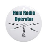 Ham radio Round Ornaments