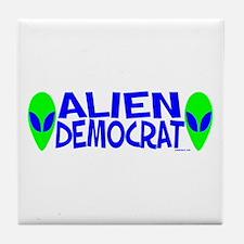 Aliens For Tile Coaster