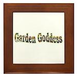 Garden Goddess Framed Tile