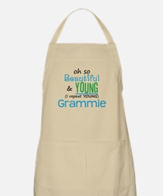 Beautiful and Young Grammie BBQ Apron