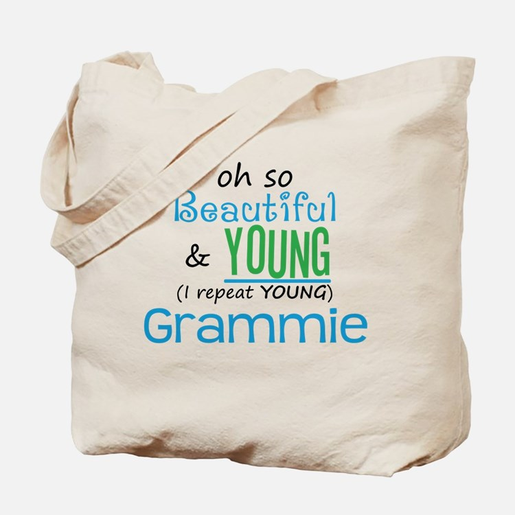 Beautiful and Young Grammie Tote Bag
