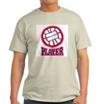 VOLLEYBALL PLAYER Ash Grey T-Shirt