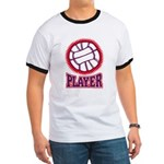VOLLEYBALL PLAYER Ringer T