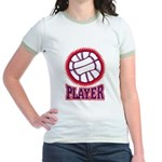 VOLLEYBALL PLAYER Jr. Ringer T-Shirt