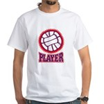 VOLLEYBALL PLAYER White T-Shirt