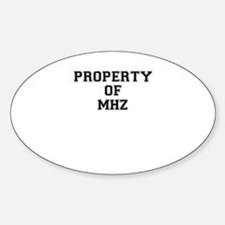 Property of MHZ Decal