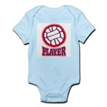 VOLLEYBALL PLAYER Infant Creeper