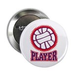 VOLLEYBALL PLAYER Button