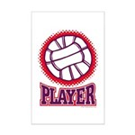 VOLLEYBALL PLAYER Mini Poster Print