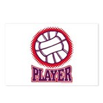 VOLLEYBALL PLAYER Postcards (Package of 8)