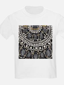 bohemian rhinestone art deco T-Shirt