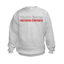World's Greatest Second Cousin Sweatshirt