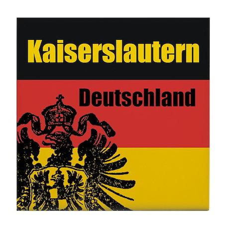 Kaiserslautern Deutschland Tile Coaster