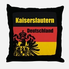 Kaiserslautern Deutschland Throw Pillow