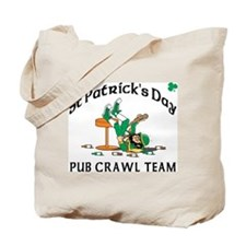 Irish Pub Crawl Team Tote Bag