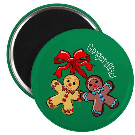 "Gingeriffic! 2.25"" Magnet (100 pack)"