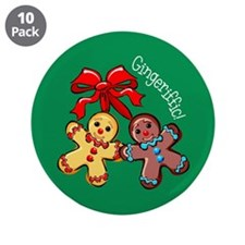 "Gingeriffic! 3.5"" Button (10 pack)"