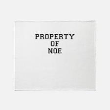 Property of NOE Throw Blanket