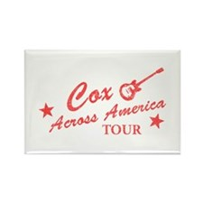 Cox Across America Tour Rectangle Magnet