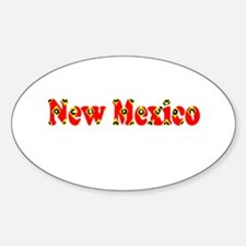 New Mexico Red Cool Pattern Jerry's Fave Decal