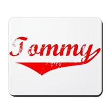 Tommy Vintage (Red) Mousepad