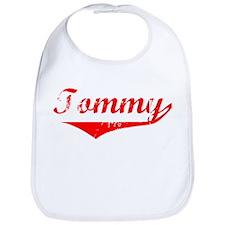 Tommy Vintage (Red) Bib