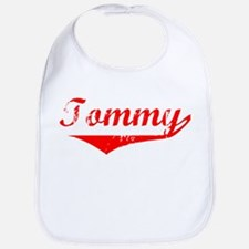 Tommy Vintage (Red) Bib