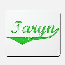 Taryn Vintage (Green) Mousepad