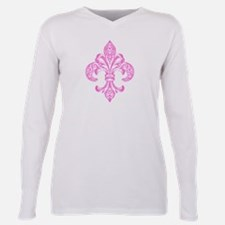 Cool Images of fleur de lis Plus Size Long Sleeve Tee