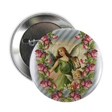 "Angels and Roses 2.25"" Button (10 pack)"