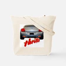 Speed Thrills Tote Bag