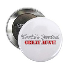 "World's Greatest Great Aunt 2.25"" Button"