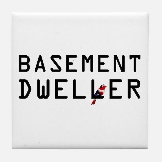 Basement Dweller - Bernie Bird Tile Coaster