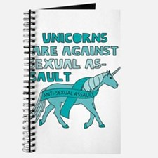 Unicorns Are Against Sexual Assault Journal