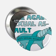 "Unicorns Are Against Sexual Assault 2.25"" Button"