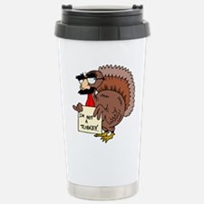 Cute Thanksgiving day Travel Mug