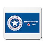 Denton County Flag Mousepad