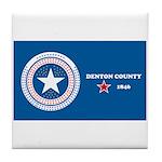 Denton County Flag Tile Coaster