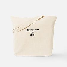 Property of SID Tote Bag