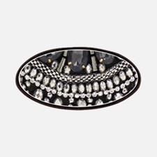 bohemian rhinestone art deco Patch