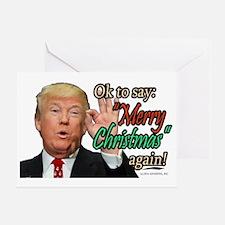Unique Elvis christmas Greeting Card
