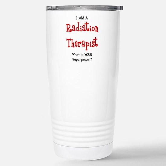 Radiation Therapist Stainless Steel Travel Mugs