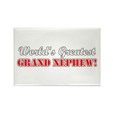 World's Greatest Grand Nephew Rectangle Magnet