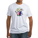All Thing Grow with Love Fitted T-Shirt