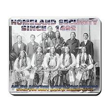 Homeland Security Since 1492 Mousepad