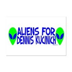 Aliens For Dennis Kucinich Mini Poster Print