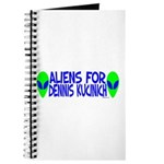 Aliens For Dennis Kucinich Journal