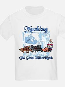 Mushing Canada T-Shirt
